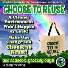 Help Keep Union County Parks Litter Free: Avoid Single-Use Plastic Bags