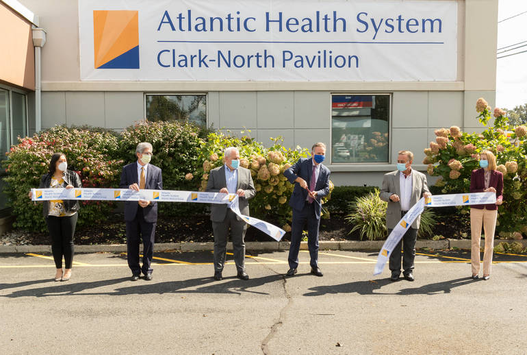 Atlantic Health System opens Clark-North Pavilion, featuring multispecialty services and urgent care