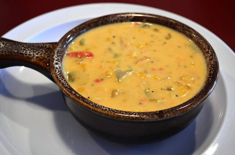 Corn chowder is among the award-winning soups at The Fanwood Grille.