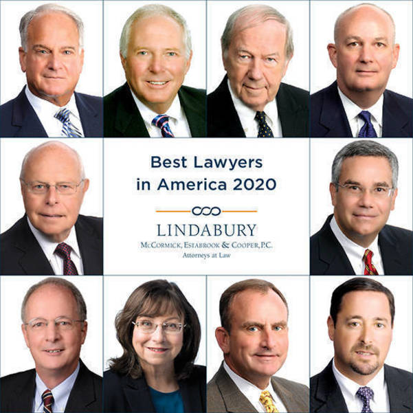 Lindabury Attorneys Named to 2020 'Best Lawyers' List | TAPinto