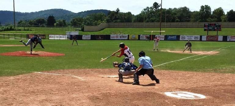 St. Bonaventure, baseball Cole Peterson