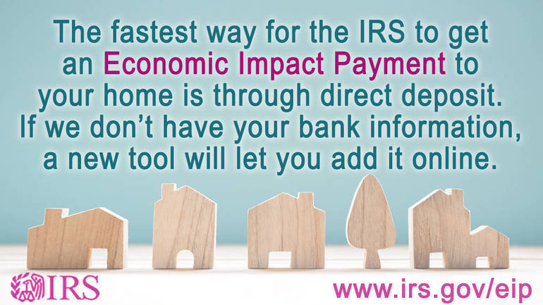 IRS Enhances 'Get My Payment' Online Application