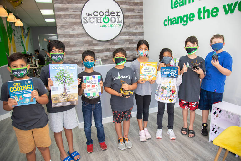 Summer Camp At The Coder School In Coral Springs: A Taste of Everything