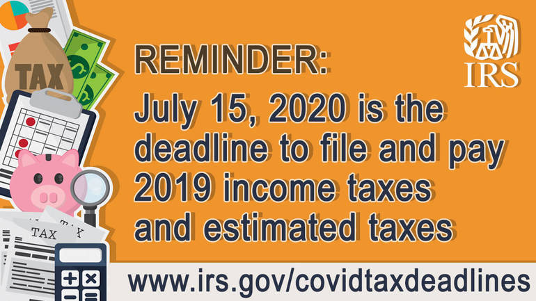 IRS: July 15 tax payment deadline approaching;