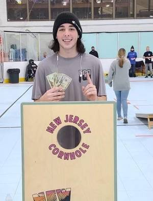 Latest Cornhole Tournament Win Has South Plainfield Teen On 'Pace' To Going Pro