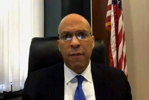 Carousel image 4cacba06d0c1e2251c96 15aac2e919545e253e3e cory booker at senate committee hearing on small business