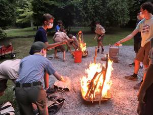 Madison's Troop 7 Gets All Fired Up