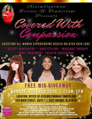Assemblywoman Britnee Timberlake Presents: Covered With Compassion