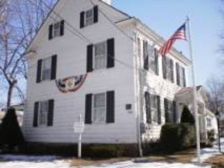 Union's Museum--The Caldwell Parsonage