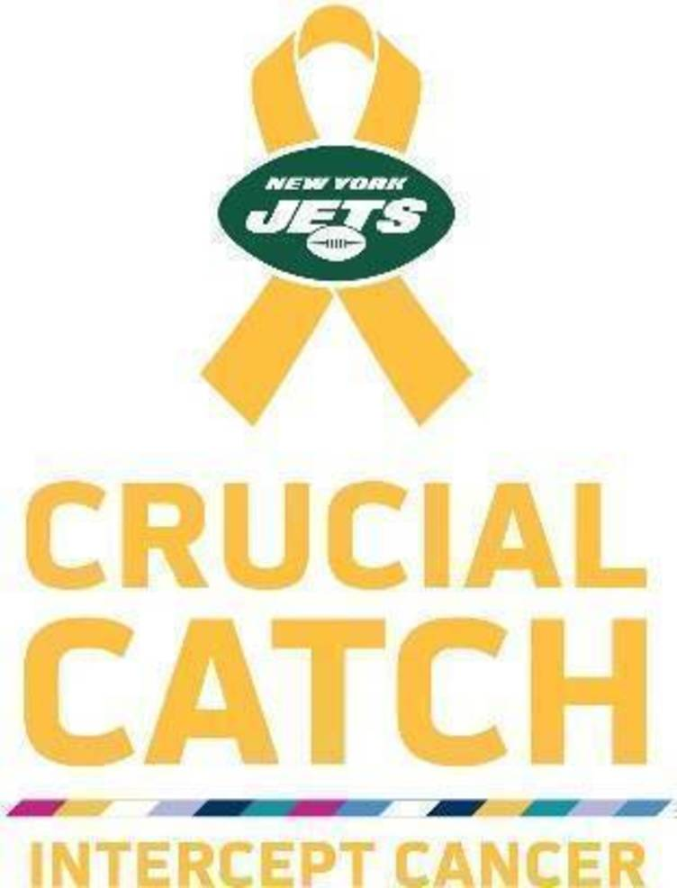"""Jets and Atlantic Health System To Fight Pediatric Cancer As Part Of The NFL's """"Crucial Catch: Intercept Cancer"""" Campaign"""