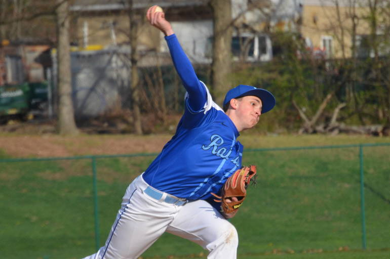 Michael Urbano went 7 strong innings in his first varsity start for Scotch Plains-Fanwood