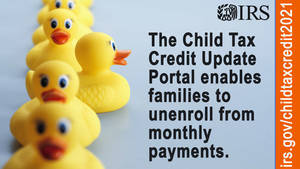 IRS announces two new online tools to help families manage Child Tax Credit payments