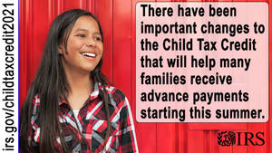 IRS, Treasury Announce Families of 88% of Children in the U.S. to Automatically Receive Monthly Payment of Refundable Child Tax Credit