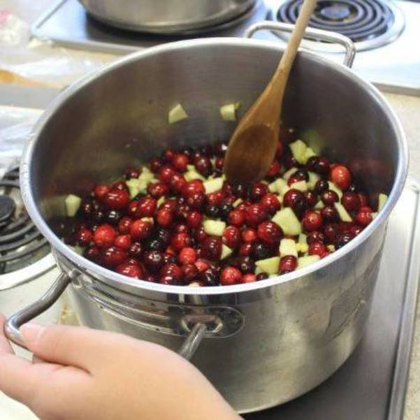 Move On Over Martha, Raiders' Ginger-Spiced Cranberry Sauce Is Thanksgiving's Best Bet from Nutley NJ
