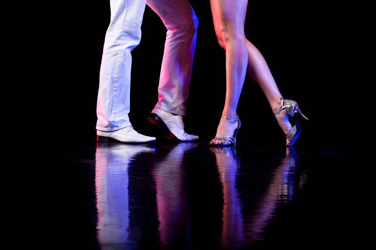 GWACC Hosts Networking Happy Hour and Salsa Lesson at The Westfield Ballroom