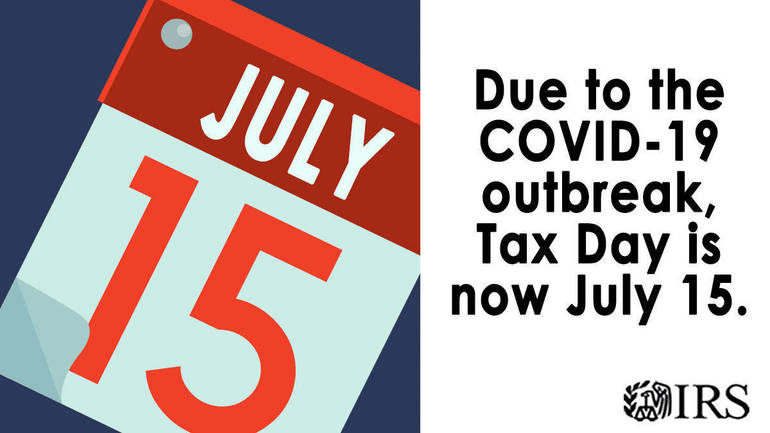 Tax Day now moved to July 15: Treasury, IRS extend filing deadline, set up new COVID-19 webpage