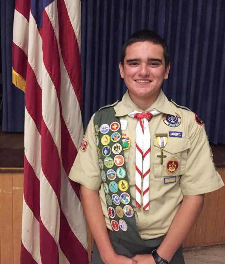 Derek Porter of Troop 104 in Scotch Plains is an Eagle Scout.