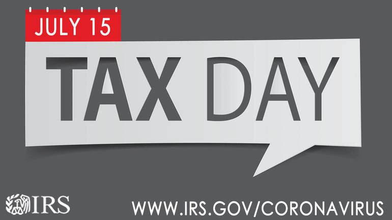 Taxpayers should file by July 15 tax deadline; automatic extension to Oct. 15 available