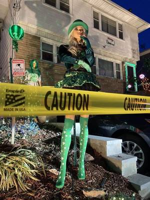 Bloomfield St. Patrick's Day Display Delights Some, Offends Others