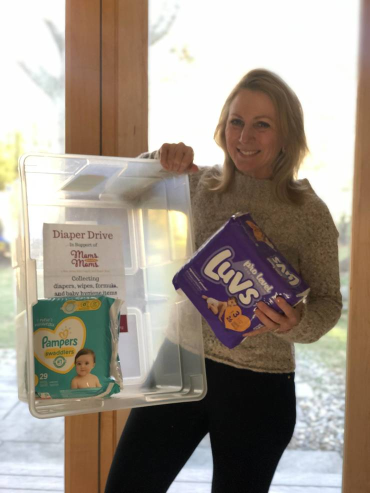 Local Businesses Host Diaper Donation Drop-off Bins For MLK Day of Service