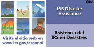 As hurricane season nears, IRS reminds people to prepare for natural disasters