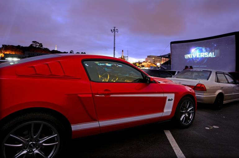 Drive-In Movies Coming to BurlCo Starting This Weekend!