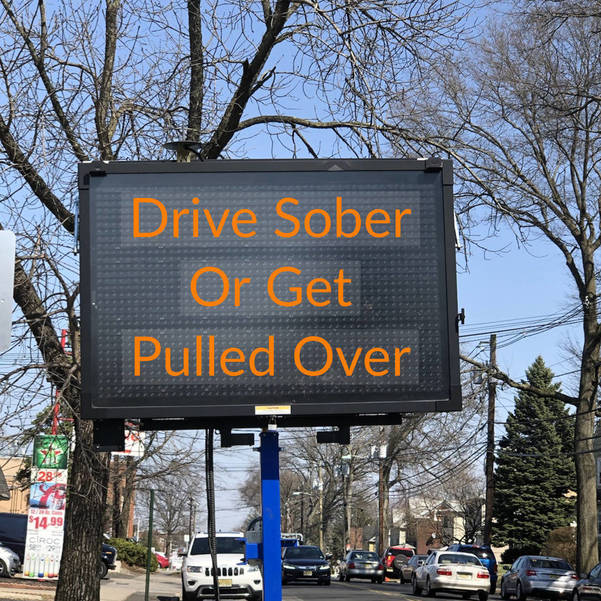 Hackensack Police To Crack Down on Motorists Driving Under the Influence in Annual 'Drive Sober Or Get Pulled Over' Campaign Beginning December 4