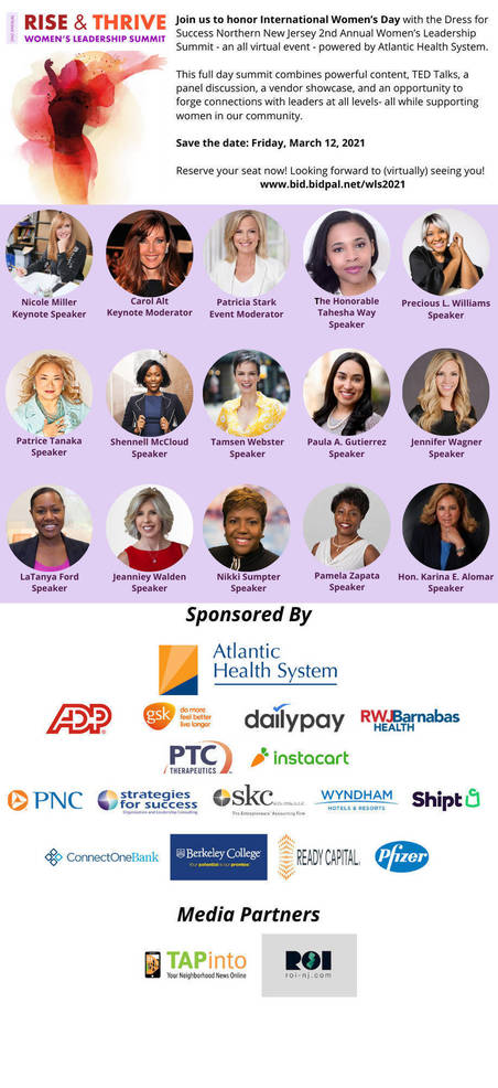 Dress for Success Northern New Jersey Helping Women Rise and Thrive During the Pandemic