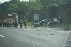 Driver of Jack-knifed Tractor Trailer May Have Suffered Medical Episode before Route 78 Crash Thursday Morning