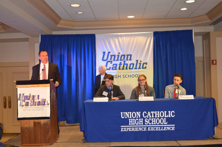 Union Catholic's 5th annual Business Networking Luncheon was held on Thursday