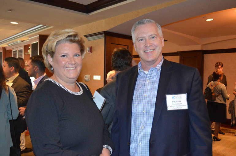 Darraugh Valli and Peter Chemidlin of Family Investors in Fanwood