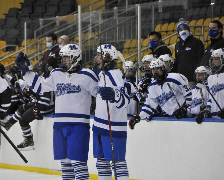 Nutley/Columbia Falls to Millburn in Saturday Ice Hockey Matinee