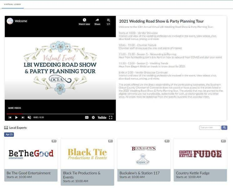 Take a Virtual Spin at the 13th Annual LBI Wedding Road Show & Party Planning Tour April 25