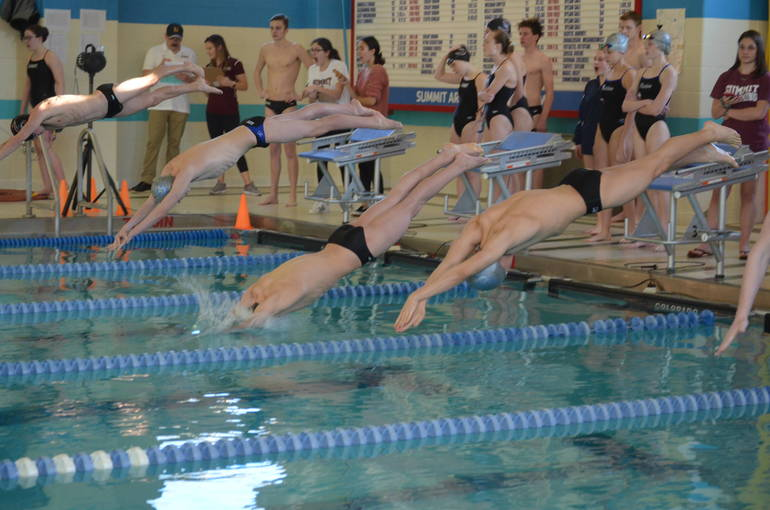 Scotch Plains-Fanwood swimming