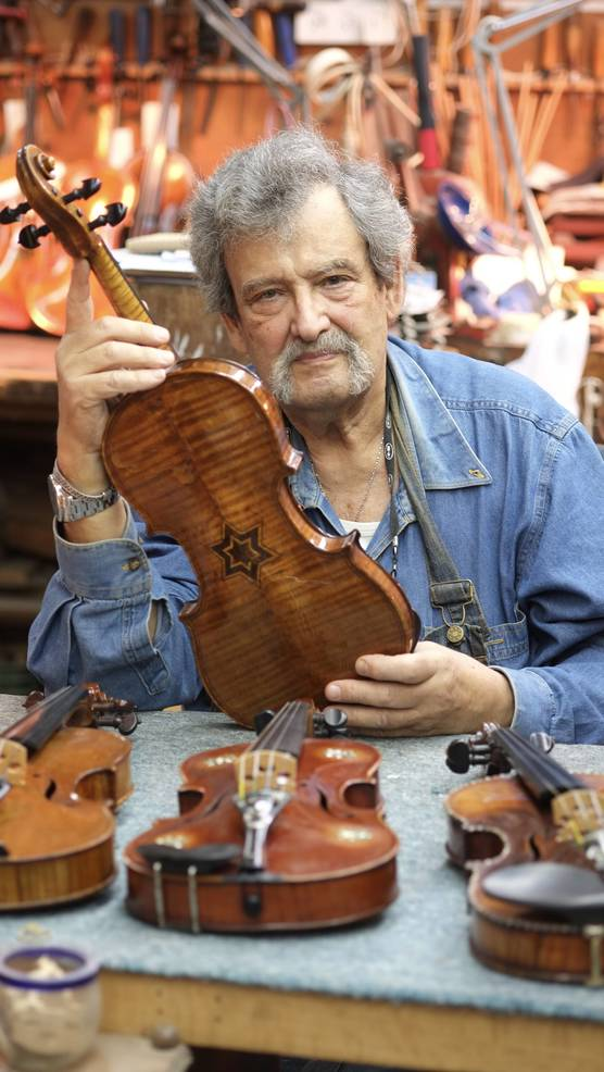 Amnon Weinstein, Creator and Founder, Violins of Hope