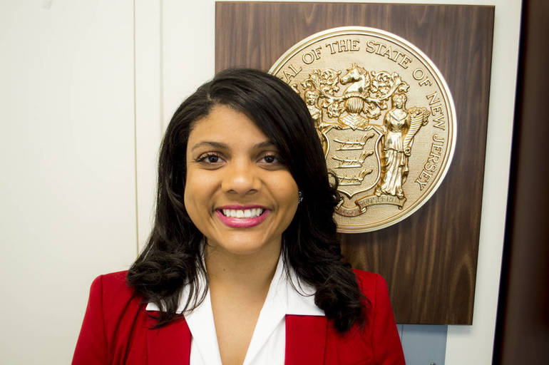 Assemblywoman Britnee N. Timberlake, Prime Sponsor of the People's Bill in the Assembly