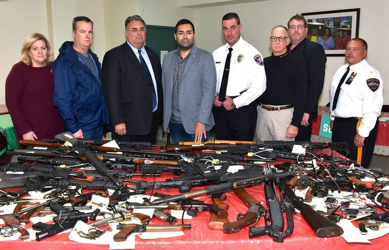 Union County Gun Buyback Events in Elizabeth and Plainfield Net 228