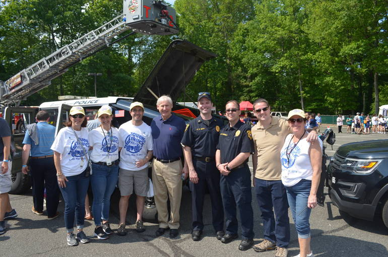 Touch-a-Truck at the JCC of Central New Jersey in Scotch Plains