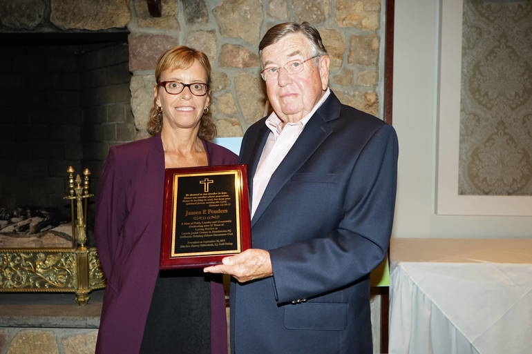 Morristown's Loyola Jesuit Center Honors Madison Resident  For Faith and Service
