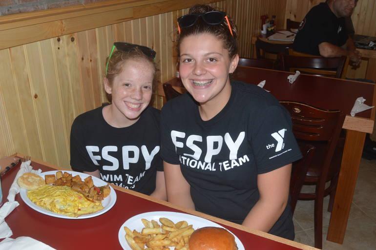 Aislinn Mooney and Abby DiGiorgio at The Fanwood Grille