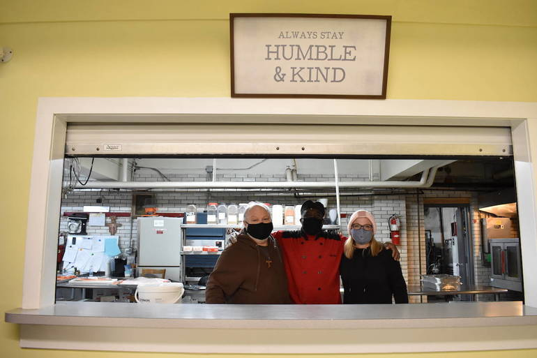 With Hunger Rising, Newark Soup Kitchen Persists in Face of Budget Shortfall