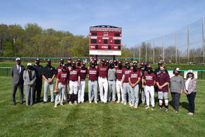 Atlantic Health System Donates Scoreboard to Morristown Varsity Baseball, Softball Teams