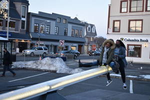 With 'Impulse' Art, Downtown Westfield Takes a Shine to Lighted Seesaws