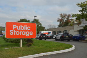 Public Storage on Route 22 in Scotch Plains.