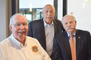 Joe McCourt, Ralph Checchio, and Bob Lacosta of Scotch Plains