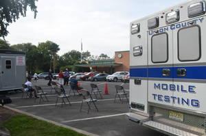 Vaccine Distribution at Scotch Plains-Fanwood High School a Success