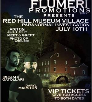 Paranormal Investigation with TV's A&E Ghost Hunters, Daryl Marston and Mustafa Gatollari