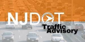 Weekend Traffic Shift on Route 80 in Roxbury