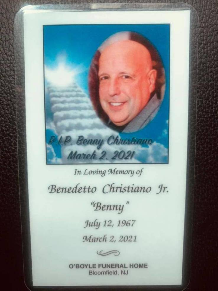 Members of Bloomfield  Police and Many Others Say Final Goodbye to Officer Christiano
