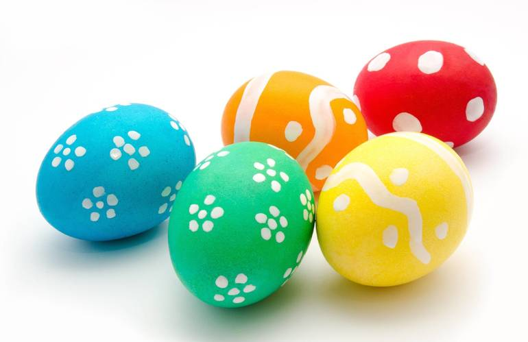 Show Your Creativity in Union's Easter Egg Coloring Contest